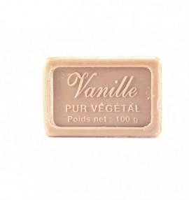 Marseillské přírodní mýdlo - 100 g-vanilka - balené v celofánu