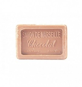 Marseillské přírodní mýdlo - 100 g- čokoláda - balené v celofánu