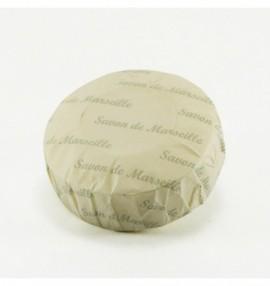 Marseillské kulaté přírodní mýdlo - 150 g-květ leknínu - balené v hedvábném papíře