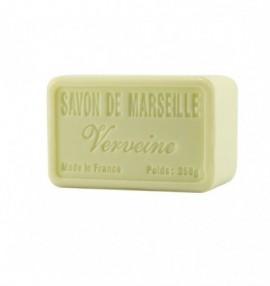 Francouzské luxusní marseillské přírodní mýdlo - 250 g-verbena - balené v celofánu