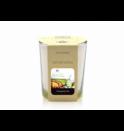 votivní svíčka ve skle Fruity Green Tea BARVA: BÉŽOVÁ