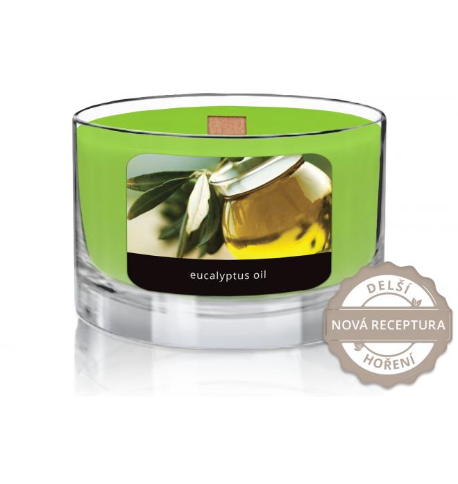 svíčka Wood Wick Eucalyptus Oil