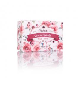 Marseillské přírodní mýdlo - Růže 100 g