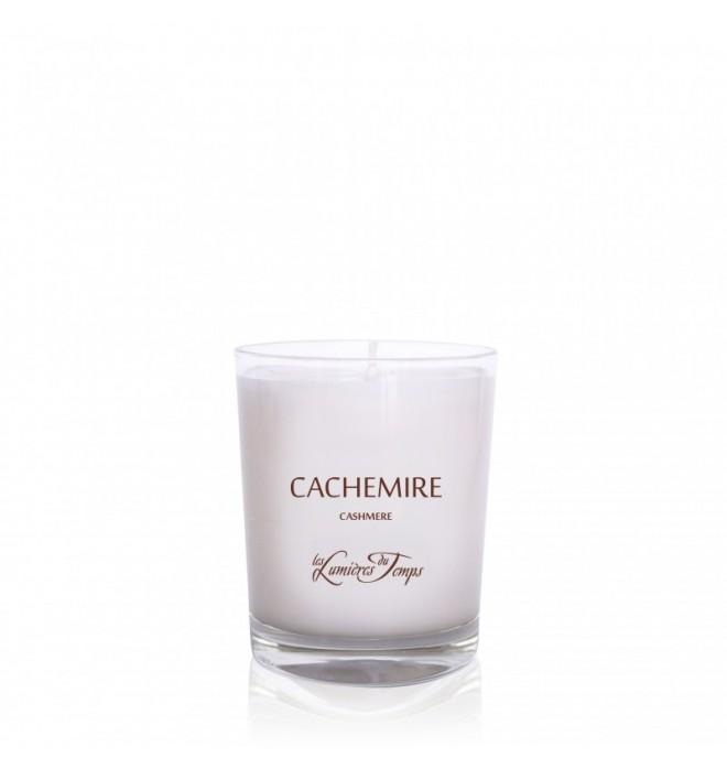 Francouzská luxusní přírodní ručně odlévaná vonná svíčka - 90 g - kašmír