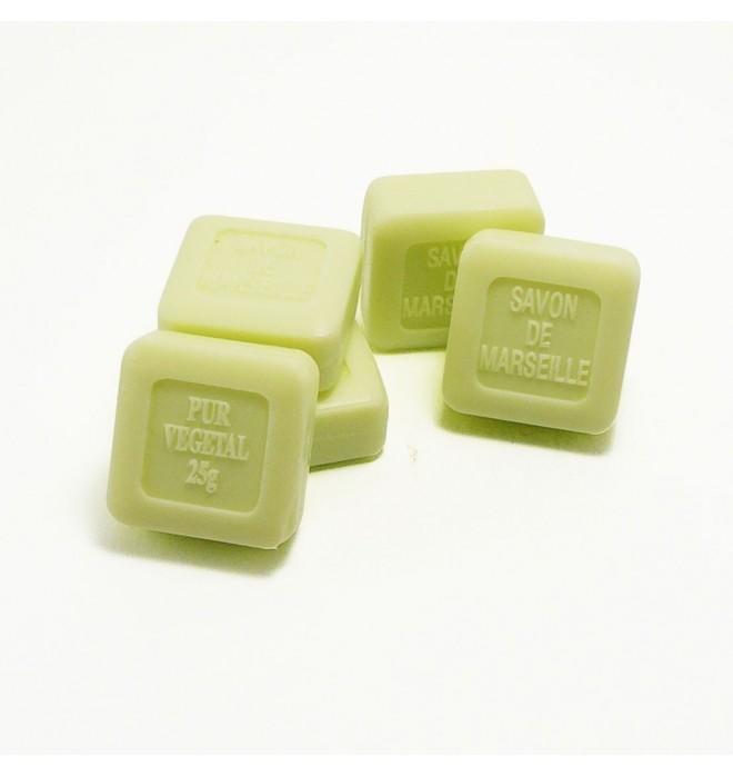 Marseillské přírodní mýdlo verbena -25 g čtvereček