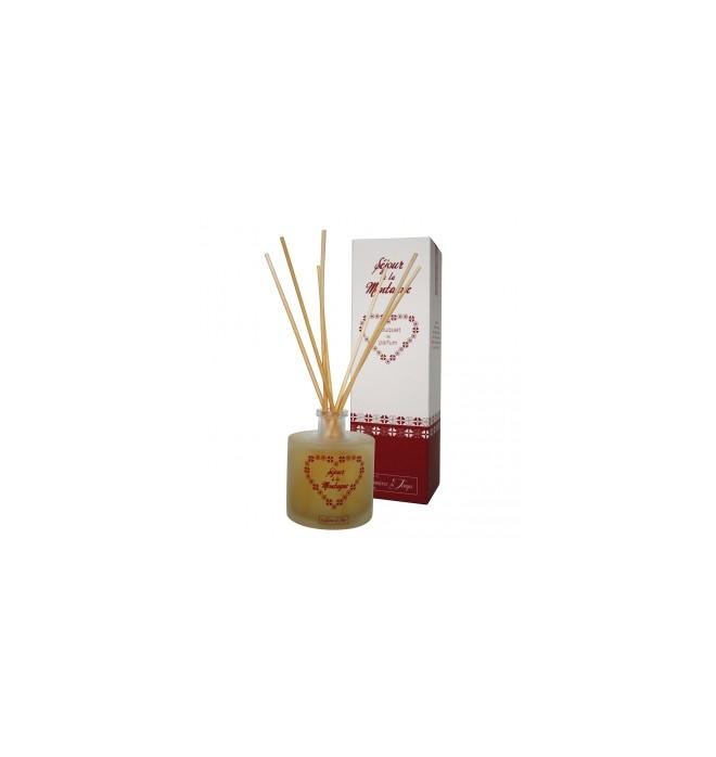 Francouzský luxusní difuzér - 100 ml - Vůně z hor - V chatě