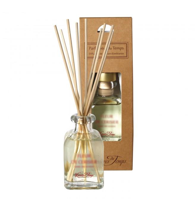 Francouzský luxusní difuzér - 100 ml -cedrové dřevo