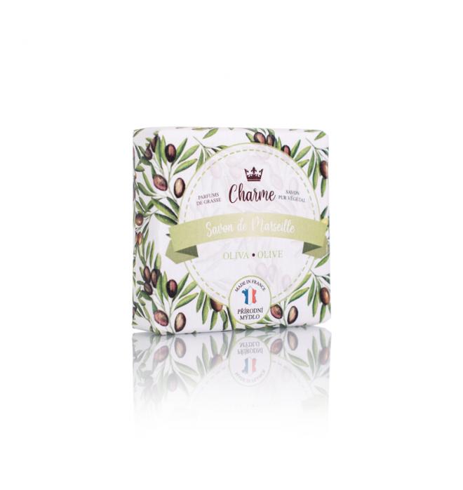Marseillské přírodní mýdlo - Oliva 50 g